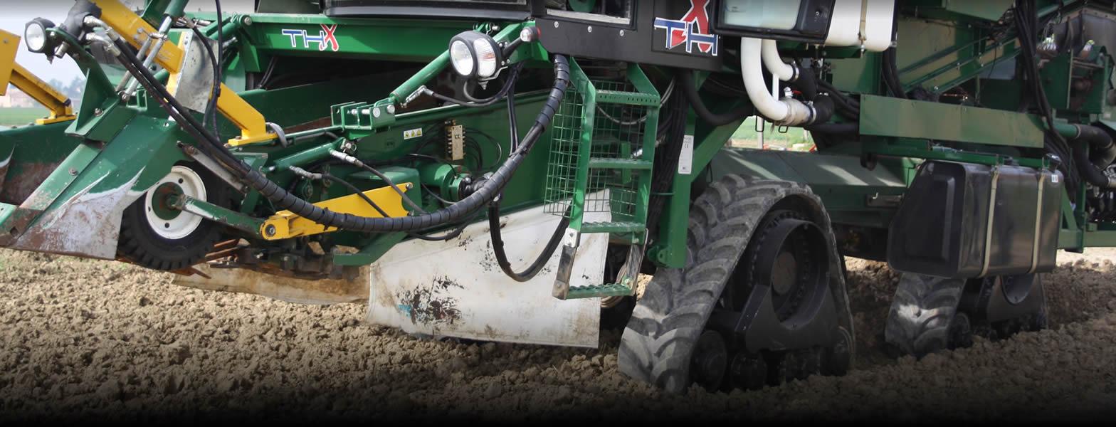 cingolature in gomma per macchine agricole