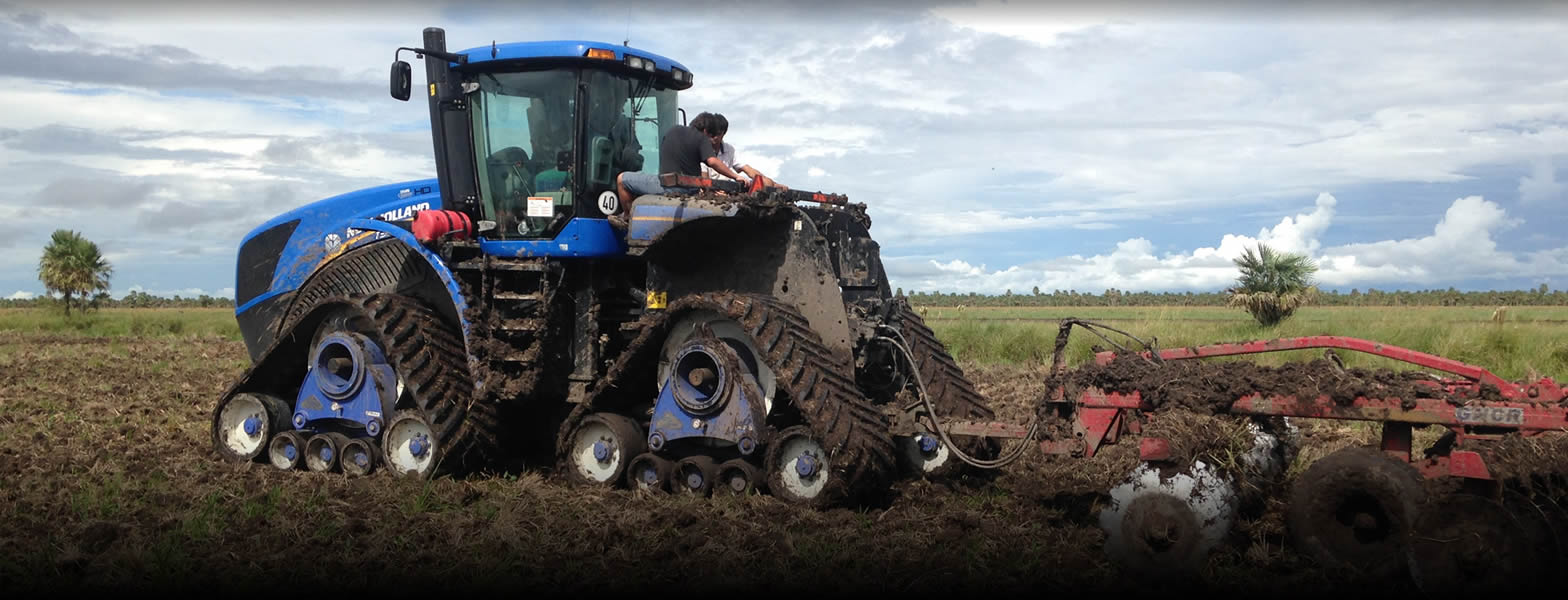 cingolature per macchine agricole