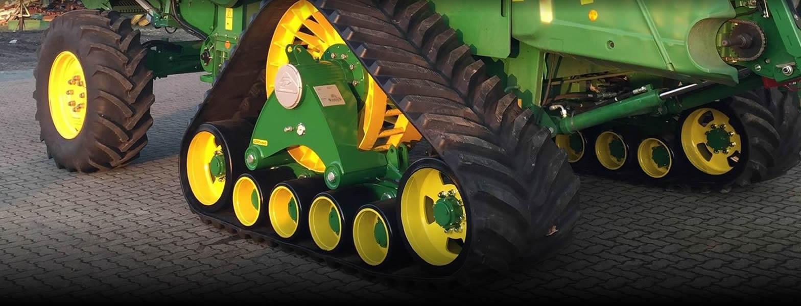 cingoli in gomma per macchine agricole